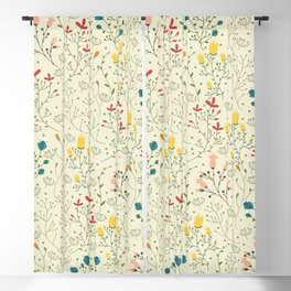 Flowers pattern Blackout Curtain