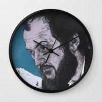 kubrick Wall Clocks featuring Stanley Kubrick by Andy Christofi