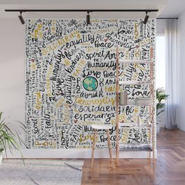 Positive Messages Wall Mural