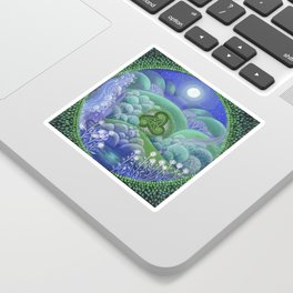 Triskelion Nightly Stillness Sticker