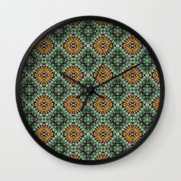 Granny Squares Wall Clock