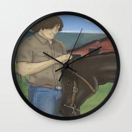 Jared and Daisy Wall Clock