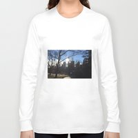 central park Long Sleeve T-shirts featuring Central Park by PintoQuiff