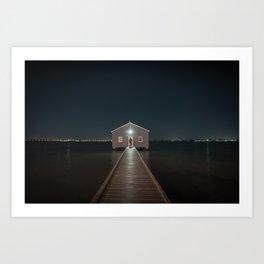 The Boat House 2 Art Print