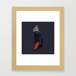 SUSHI DELUXE Framed Art Print