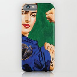 Frida Strong iPhone Case
