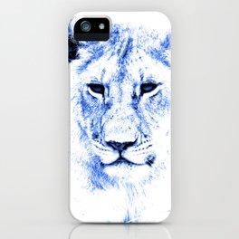 Rainbow Animals Lion iPhone Case