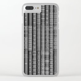 Keep Reading B&W Clear iPhone Case