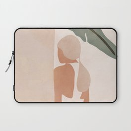 Abstract Woman in a Dress Laptop Sleeve