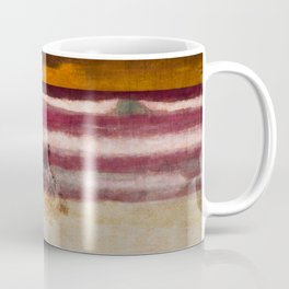 Fool standing at the beach starring at starry sky (Heinrich Heine) Coffee Mug