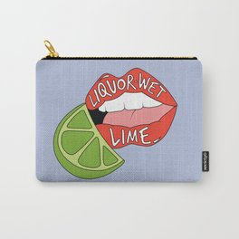 """Liquor-Wet Lime - Lorde """"Sober"""" Carry-All Pouch"""