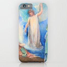 John La Farge - The Recording Angel - Digital Remastered Edition iPhone Case