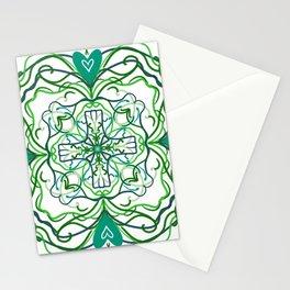 Shamrock Mandala Stationery Cards
