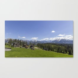Snow Topped. Canvas Print