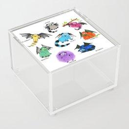 Eight Little Iggys Acrylic Box