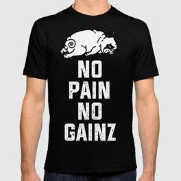 NO PAIN NO GAINZ T-shirt