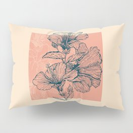 Hibiscus Colors Pillow Sham