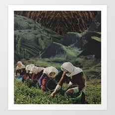 Pickers Art Print