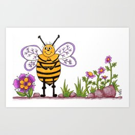 The Bee's Knees Art Print
