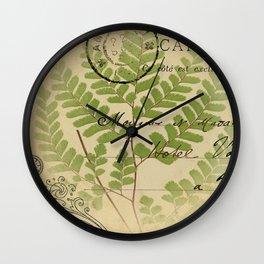 Botanical 3  Wall Clock