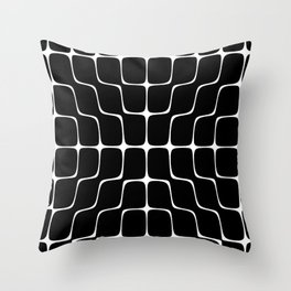 Energy Vibration 4. Frequency - Chladni - Cymatics Throw Pillow