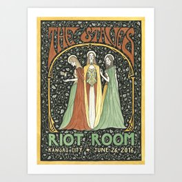 The Staves Poster Art Print