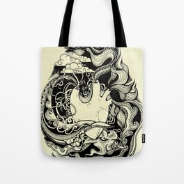 Sea Heart Tote Bag