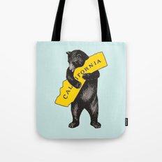 Vintage California Bear Tote Bag