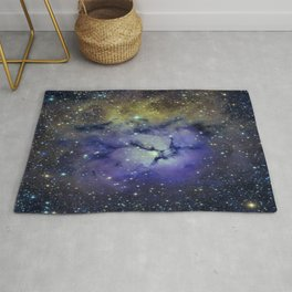 Pansy in Space Rug