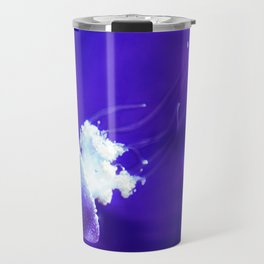 Jellyfish Flowing Through the Moonlight Travel Mug