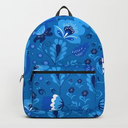 Gzhel - blue Backpack