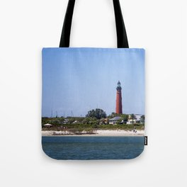 Sunny Day at Ponce Inlet Tote Bag