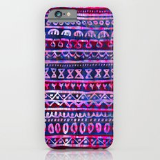Hau'oli Stripe Purple iPhone 6s Slim Case
