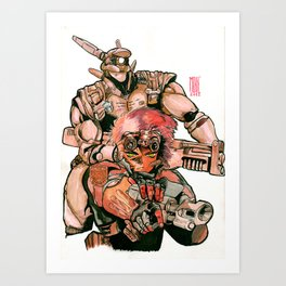 Appleseed Art Print