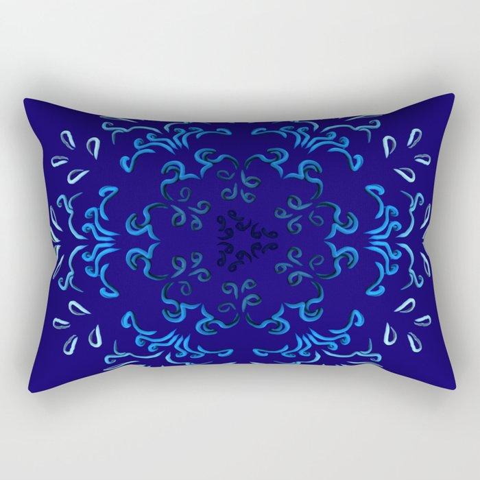 """""""Hakakā a hohonu"""" (lucha profunda de otoño) Rectangular Pillow"""