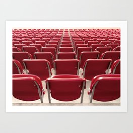 WORLD CUP 2014 seats Art Print