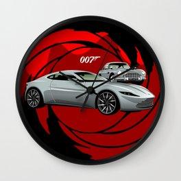 James Bond Aston Martin DB10 from Spectre Wall Clock