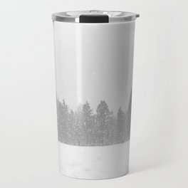 Giant Snowball // Making Snowmen Winter Landscape Photography Snowman Ball Snowy Day Travel Mug