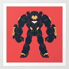 Hulkbuster Iron Man Art Print