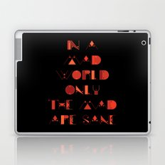 In a Mad World Laptop & iPad Skin