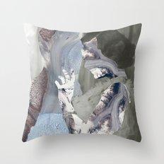 Glaciers Throw Pillow