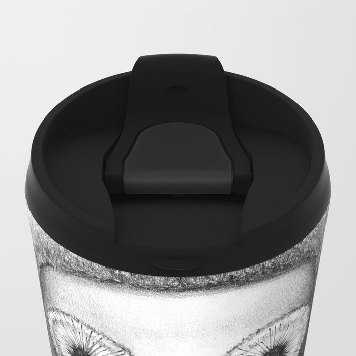 breathe normally Metal Travel Mug