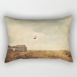 Abandoned building Rectangular Pillow