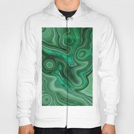 Strata Malachite Texture 01 Hoody