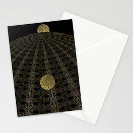 Unfitting Frame Orbitals 1 Stationery Cards