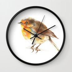 bird 2 Wall Clock