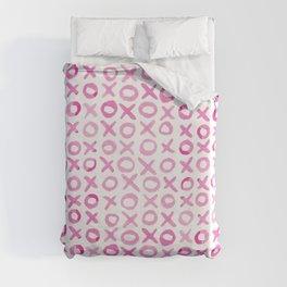 Xoxo valentine's day - pink Duvet Cover