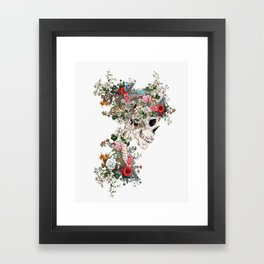 Skull Queen Framed Art Print