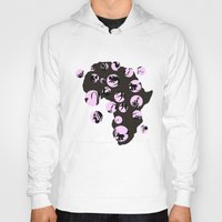 africa Hoodies featuring Africa by Dreamy Me