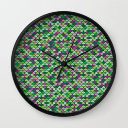 Mossy Mermaid Wall Clock
